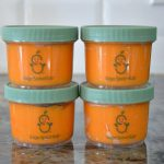 Sage Spoonfuls Jars filled with Butternut Squash