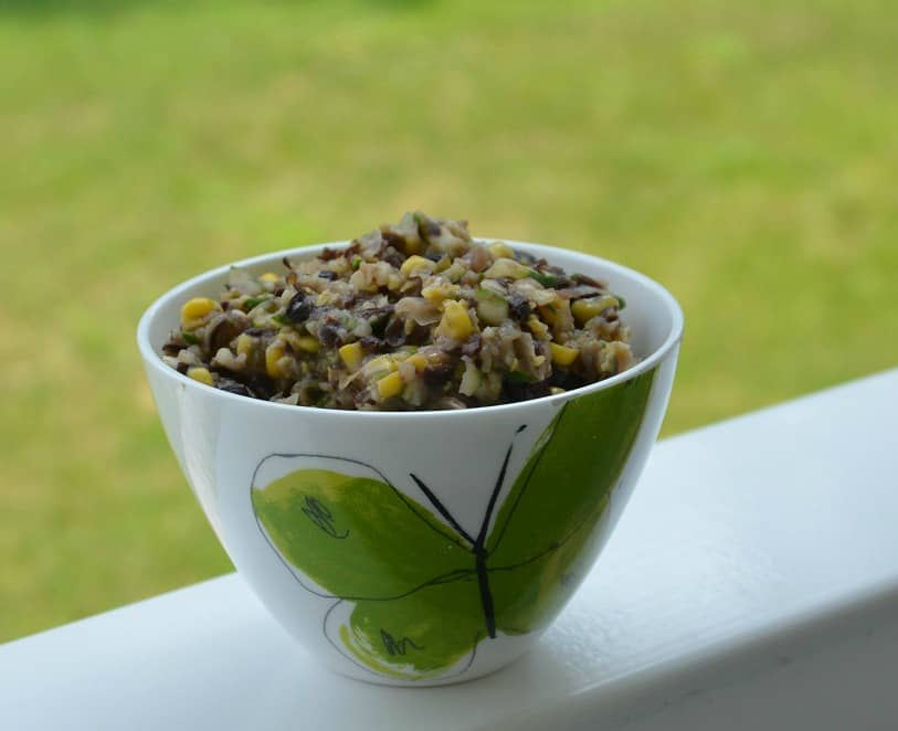 Black Beans, Corn and Zucchini